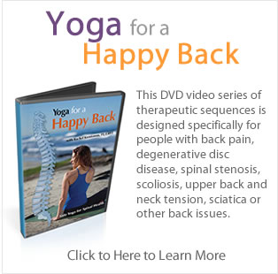 Yoga for a Happy Back by Rachel Krentzman of Embody Physical Therapy and Yoga
