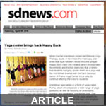 Article about Embody at SDNews.com