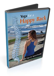 Yoga for a Happy Back DVD by Rachel Krentzman, PT, E-RYT